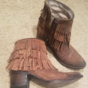 Freebird Leather Boots